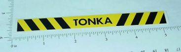 Tonka Construction Vehicle Rear Bumper Sticker Main Image