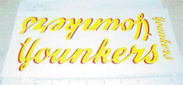 Tonka Younkers Semi Truck Sticker Set Main Image