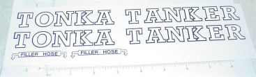 Tonka Tanker Semi Truck Sticker Set Main Image