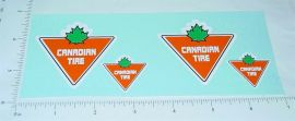 Tonka Canadian Tire Replacement Sticker Set