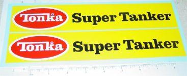 Tonka Super Tanker Replacement Sticker Set Main Image
