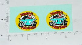 Tonka Fun Buggy Toy Car Replacement Sticker
