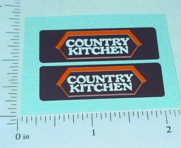 Tiny Tonka Country Kitchen Van Stickers Main Image