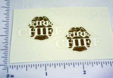 Mini Tonka Fire Chief Replacement Stickers Main Image