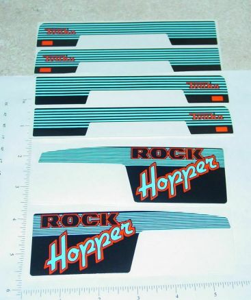 Tonka Rock Hopper Original NOS Sticker Set Main Image
