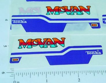 Tiny Tonka McVan Original NOS Stickers Main Image