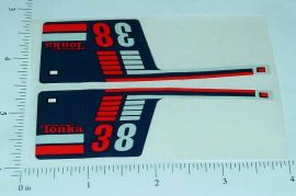 Tonka Racing #38 Racer Original Sticker Set
