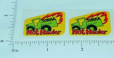 Pair Tonka Hot Hauler Nostaligic T NOS Sticker Set Main Image