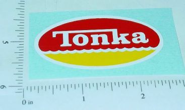 Tonka Hard Hat Construction Toy Sticker Main Image