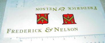 Pair Tonka Frederick & Nelson Semi Truck Sticker Set Main Image