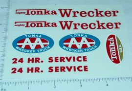 Mighty Tonka Wrecker Replacement Sticker Set