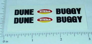 Tonka Mighty Dune Buggy Hood Stickers Main Image