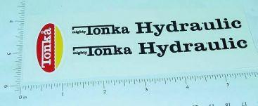 Mighty Tonka Hydraulic Dump Truck Sticker Set Main Image