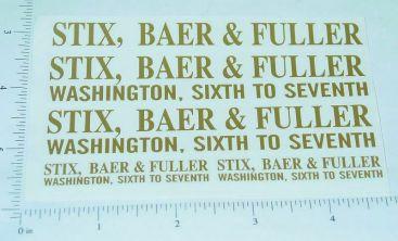 Tonka Stix, Baer & Fuller Semi Truck Stickers Main Image