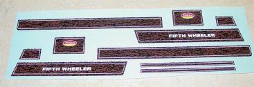 Tonka Fifth Wheeler Camper/Truck Stickers Main Image
