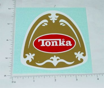 Tonka Fire Chief Plastic Hat Replacement Sticker Main Image