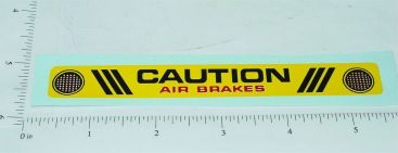 Mightly Tonka Rear Bumper Replacement Sticker Main Image