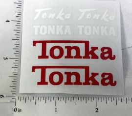 Tonka Cement Mixer Truck Replacement Stickers