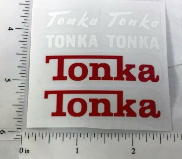 Tonka Cement Mixer Truck Replacement Stickers Main Image