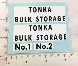 Tonka Bulk Storage Tanks Replacement Sticker Set