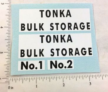 Tonka Bulk Storage Tanks Replacement Sticker Set Main Image