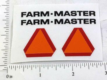 Tonka Farm Master Tractor/Trailer Replacement Sticker Set Main Image