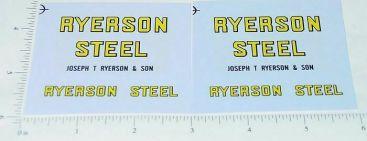 Tru Scale Ryerson Steel Semi Sticker Set Main Image
