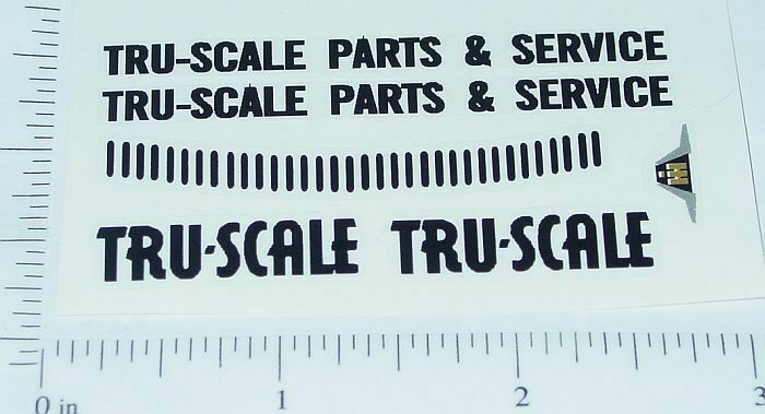 Tru Scale International Truck Stickers           TS-001