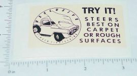 Tru Scale Touch Steering Roof Sticker