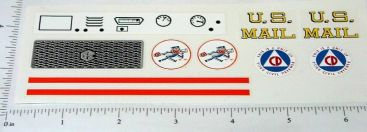 Tru Scale US Mail International Scout Stickers Main Image