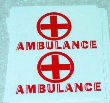 Turner Toys Amvulance Replacement Sticker Set Main Image