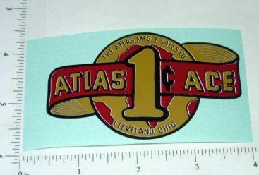 Atlas Ace 1 Cent Vending Machine Sticker Main Image