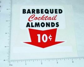 10 Cent Cocktail Almonds Sticker