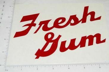 Stoner Fresh Gum Vending Machine Sticker Main Image