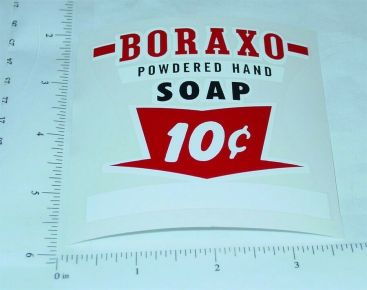 10c Boraxo Soap Vending Machine Sticker Set Main Image