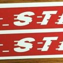 Red Streak Wagon Pull Toy Replacement Stickers Main Image