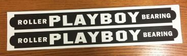 Playboy Roller Bearing Wagon Pull Toy Replacement Stickers    WA-004 Main Image