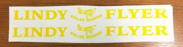 Lindy Flyer Wagon Pull Toy Replacement Stickers Main Image