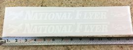National Flyer Coaster Wagon Pull Toy Replacement Stickers