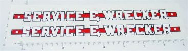 Wyandotte Service & Wrecker Truck Sticker Set Main Image