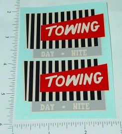 Wyandotte Towing Wrecker Truck Sticker Set