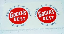 Wyandotte Gooch's Best Semi Truck Stickers