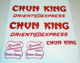 Wyandotte Chun King Foods Semi Truck Stickers