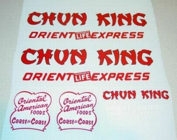 Wyandotte Chun King Foods Semi Truck Stickers Main Image
