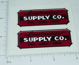 Wyandotte Construction Supply Company Stickers