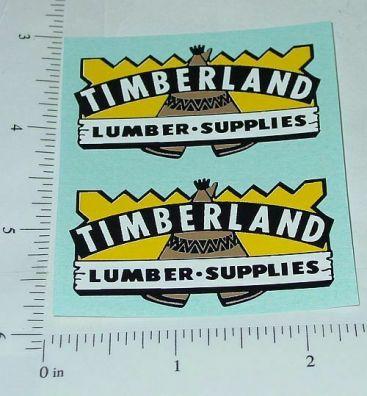 Wyandotte Timberland Lumber Truck Sticker Set Main Image
