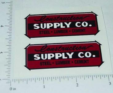 Wyandotte Construction Supply Company Stickers Main Image
