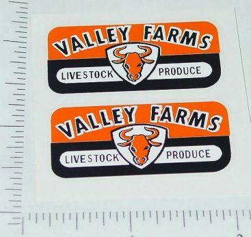 Wyandotte Valley Farms Trailer Sticker Set Main Image
