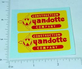 Wyandotte Construction Company Stickers