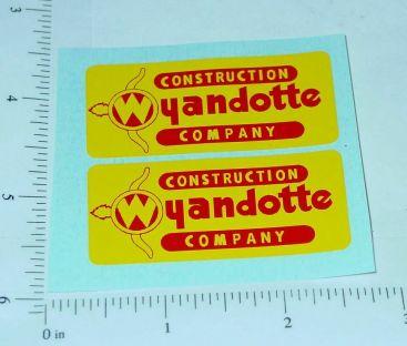 Wyandotte Construction Company Stickers Main Image